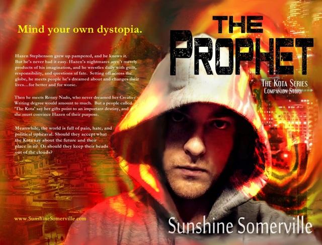 Prophet Paperback Cover